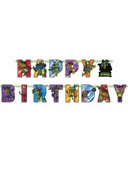 Guirlande Happy Birthday The Rise of Teenage Mutant Ninja Turtles™ 2 m