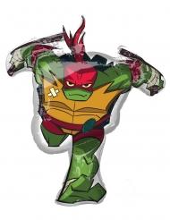 Aluminium Ballon Raphael Ninja Turtles™ 73 x 86 cm