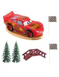 Kage dekoration sæt Cars™ 8 cm