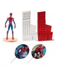 Kagedekoration sæt Spiderman™ 8 cm