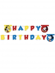 Happy Birthday Banner Mickey Super Cool™ 2 m
