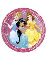 8 Paptallerkner Disney™ prinsesser 23 cm