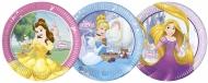 8 Paptallerkner Disney™ prinsesser hjerteformet 23 cm