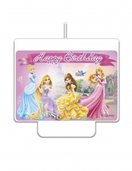 Fødselslys Happy Birthday Disney™ prinsesser 9 x 7 cm