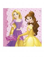 20 Papirservietter Disney™ prinsesser hjerter 33 x 33 cm