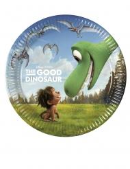 8 Små paptallerkner Den gode dinosaur™ 20 cm