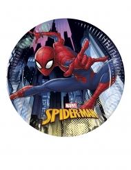 8 små tallerkner Spiderman™ 20 cm