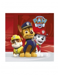 20 Servietter Paw Patrol Ready for Action™ 33 x 33 cm