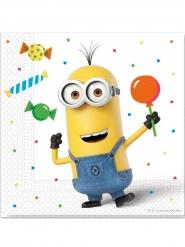 20 Papirservietter Minions Ballon Party™ 33 x 33 cm