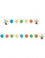 Guirlande Happy Birthday Minions™ fest 2m