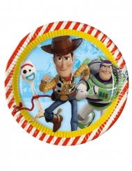 8 Paptallerkner  Toy Story 4™ 23 cm