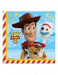 20 Papirservietter Toy Story 4™ 33 x 33 cm