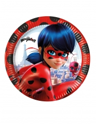 8 Paptallerkner Miraculous Ladybug™ 23 cm