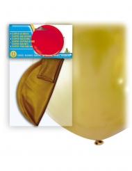 Kæmpe latex ballon 80 cm - Guld