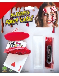 Sminkesæt blodige kort