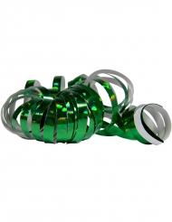 2 Serpentinruller holografisk grøn 4 m