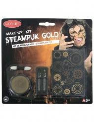 Steampunk sminke sæt gylden