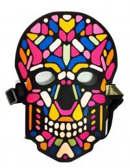 Kranie maske med lys og lyd til voksne