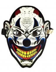 Joker maske med lyd - voksen