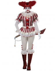 Psyko Klovn Kostume til kvinder