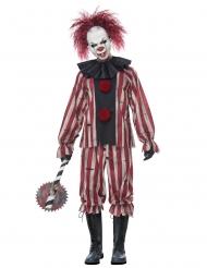 Klovne Kostume Dæmonisk Vintage til voksne