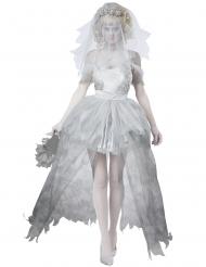 Spøgelse kostume brudepige til kvinder stor