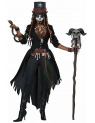 Voodoo troldmand kostume til kvinder