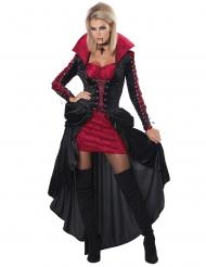 Vampyr kostume velours til kvinder