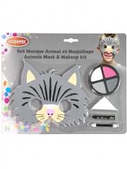 kat maske og sminke barn
