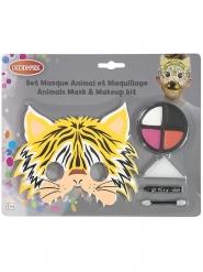 Tiger maske og sminke barn