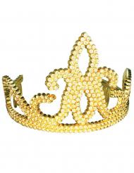 Diadem med ædelsten guld barn