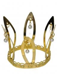Middelalder Krone Guld til Voksne