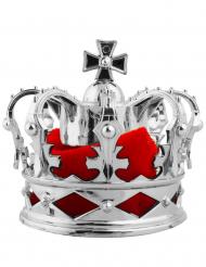 Mini Kongelig Krone Hårspænde Sølv