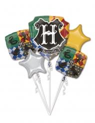Buket med 5 balloner i Aluminium - Harry Potter™
