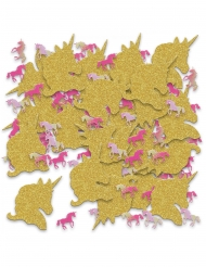 Bord konfetti enhjørning glimmer 70 g