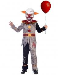 Dæmonisk Klovn Kostume til drenge
