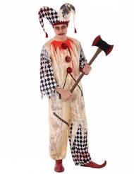 Harlekin Kostume Seriemorder til teenager