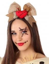 Voodoo Dukke Hårbøjle til voksne