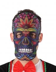 Dia de los Muertos Maske filt til voksne