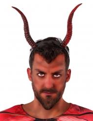 Hårbøjle med djævel horn til voksne