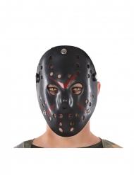 Sort hockey maske - voksen