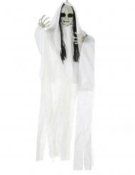 Hængende Dukkehoved med lys i 100 x 70 cm