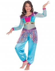 Orientalsk lampeånd kostume pige