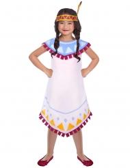 Indianer tipi kostume - pige