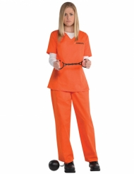 Fanger kostume orange til kvinder
