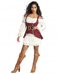 Pirat kostume barok til kvinder