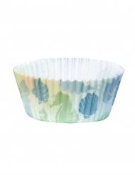 50 Cupcake forme Lagune havfrue 6,5 cm