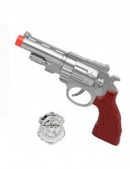 Pistol med politiskilt!