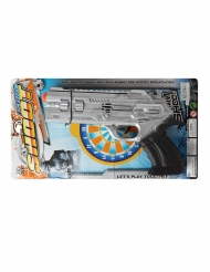 Politi pistol sølv