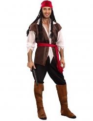 Piratkostume stor størrelse mænd